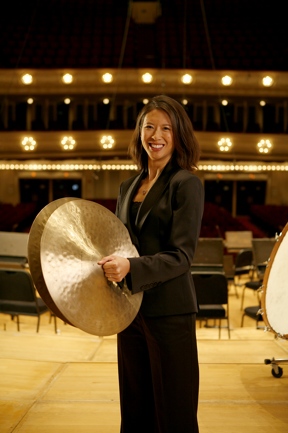 Chicago Symphony Orchestra percussion Section. Cynthia Yea Strauss